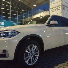 BMW x5 als Taxi für Flughafentransfer in München